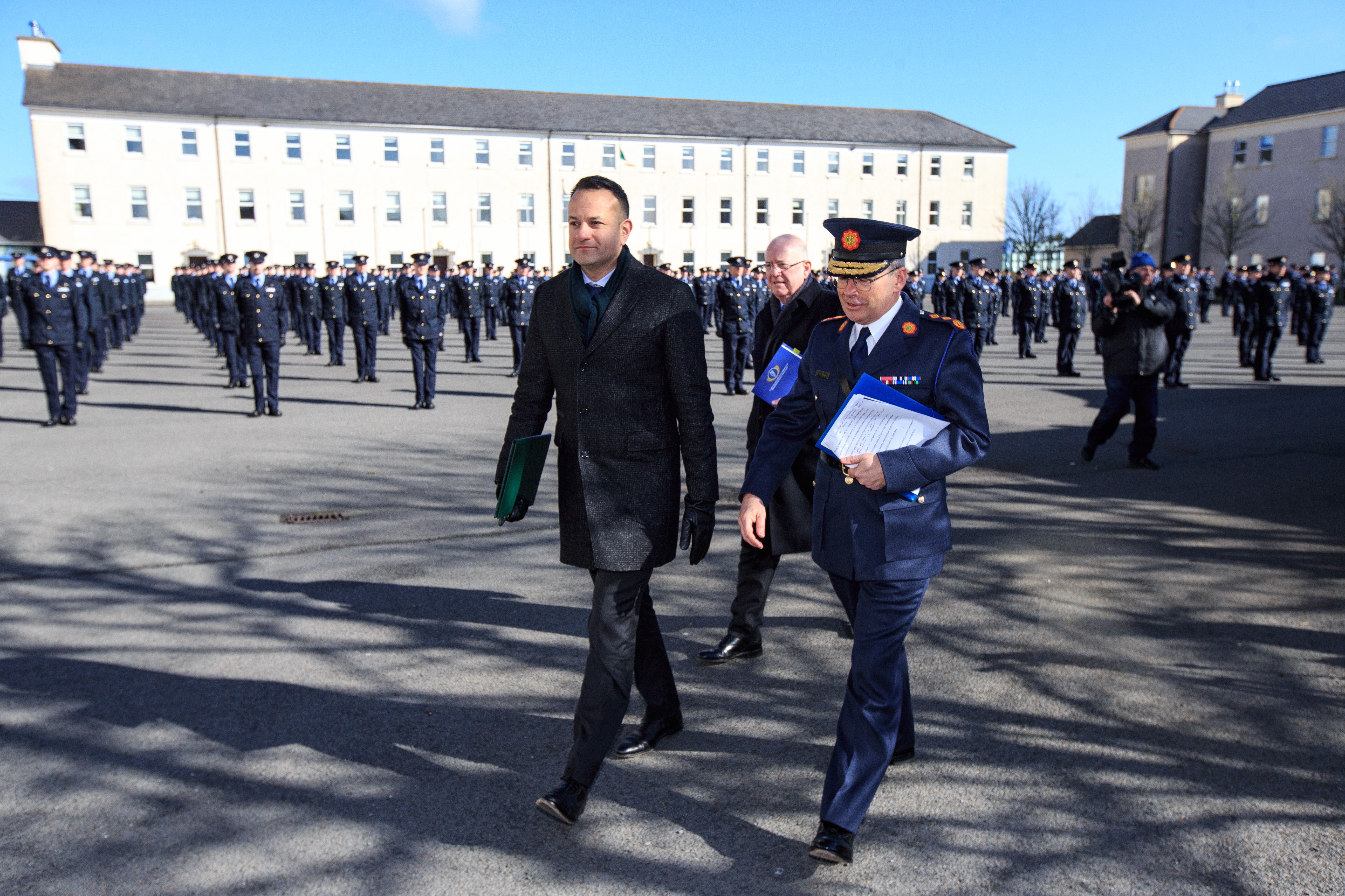20032020 Taoiseach attends passing out ceremony, Templemore